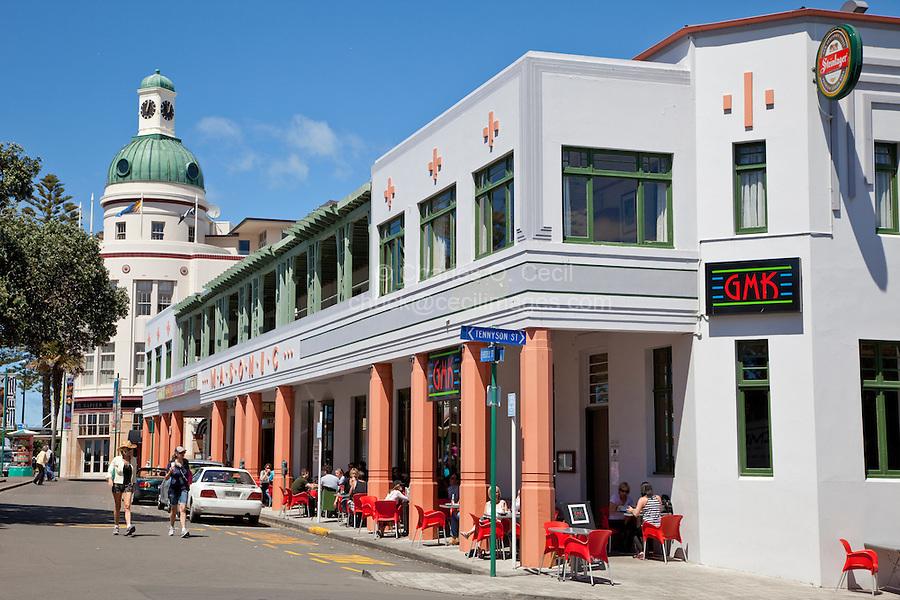 Napier New Zealand Cafe