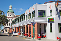 Napier, New Zealand.  Street Scene, Art Deco Architecture.