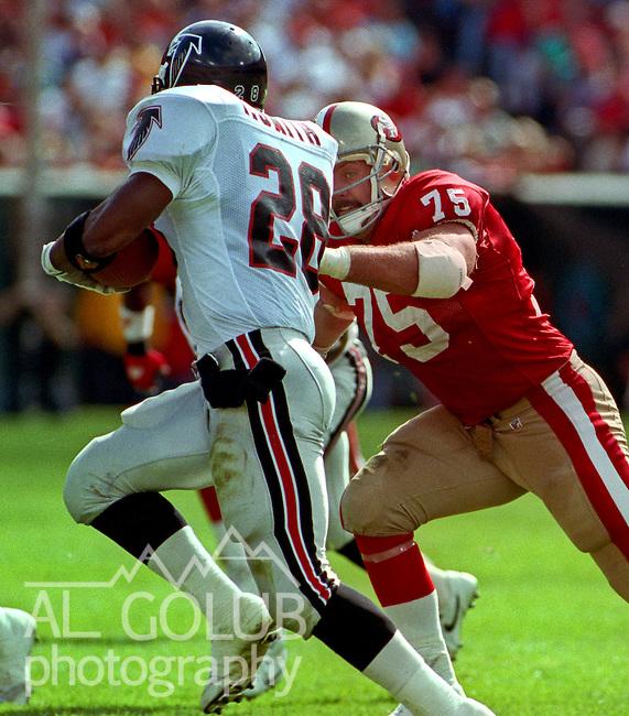 , October 18, 1992. 49ers Beat Falcons 56-17. San Francisco 49ers ...