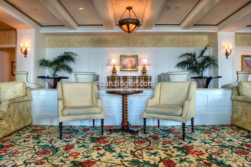 Montage Hotel Laguna Ca, Lobby Lounge, luxury, resort, Orange County, California, picturesque arts community,