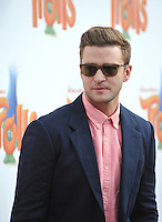 LOS ANGELES, CA. October 23, 2016: Actor/singer Justin Timberlake at the Los Angeles premiere of &quot;Trolls&quot; at the Regency Village Theatre, Westwood.<br /> Picture: Paul Smith/Featureflash/SilverHub 0208 004 5359/ 07711 972644 Editors@silverhubmedia.com