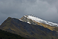 Mountain with spring snow, New Zealand