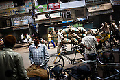 A busy part of Chandni Chowk, in the old city of Shahjanabad, popularly known as Old Delhi.