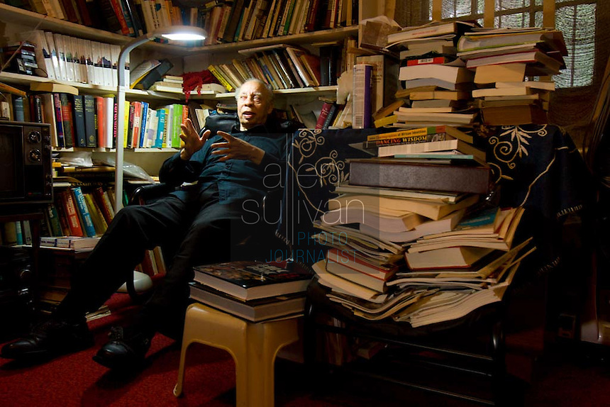 Richard Long in his Inman Park home. The cultural historian is being honored by the National Black Arts Festival on the occasion of his 80th birthday.
