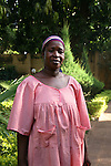 "Salimata, cook, Bamako..What do you think of Barak Obama?.""It is great that Obama has been elected. One needs change from time to time. Sometimes a White, sometimes a White. Thos stops racism""."