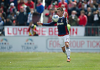 02 April 2011: Chivas USA defender/midfielder Jorge Flores #19 in action during an MLS game between Chivas USA and the Toronto FC at BMO Field in Toronto, Ontario Canada..The game ended in a 1-1 draw.