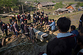 Funeral of a Black Hmong tribe member, Northern Vietnam