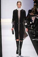 Lisanne De Jong walks the runway in an out by Max Azria, for the BCBGMAXAZRIA Fall 2011 fashion show, during Mercedes Benz Fashion Week.