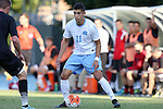 23 October 2015: North Carolina's David October (ENG). The University of North Carolina Tar Heels hosted the University of Louisville Cardinals at Fetzer Field in Chapel Hill, NC in a 2015 NCAA Division I Men's Soccer match. UNC won the game 2-1.