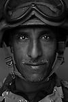 Staff Sgt. Thabed Nuri Khudair, 40, Basra, Old Iraqi Army, 4th Co., 2nd Battalion, 7th Division of the Iraqi Army in Haditha, Iraq on Sun. Nov. 27, 2005.