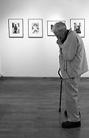 Ted Grant photographer Leica Gallery New York City. Photo: Scott Grant