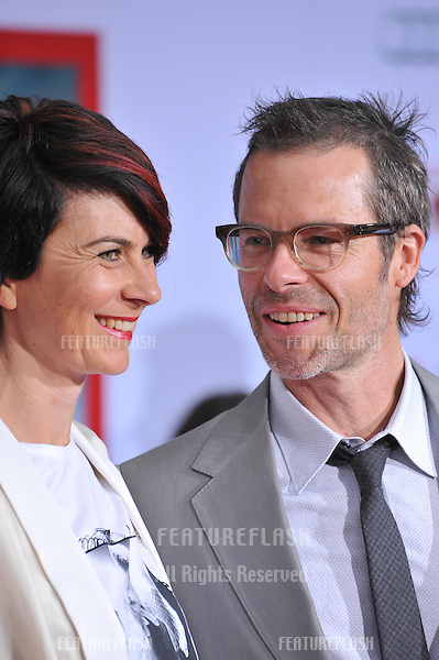 "Guy Pearce & wife Kate Mestitz at the Los Angeles premiere of his movie ""Iron Man 3"" at the El Capitan Theatre, Hollywood..April 24, 2013  Los Angeles, CA.Picture: Paul Smith / Featureflash"