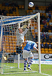 St Johnstone v Inverness Caley Thistle.....27.04.13      SPL.Antonio Reguero tips the ball over the bar.Picture by Graeme Hart..Copyright Perthshire Picture Agency.Tel: 01738 623350  Mobile: 07990 594431