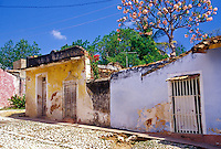Trinidad Cuba, Colorful Houses, Republic of Cuba, , pictures of front door entrances