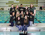 1-15-14, Huron High School synchronized swimming team