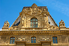 The Baroque front of the Louvre - Paris