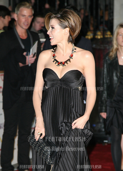 Dannii Minogue arriving for the 2010 Pride Of Britain Awards, at the Grosvenor House Hotel, London. 08/11/2010  Picture by: Alexandra Glen / Featureflash