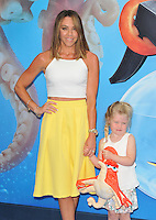 Michelle Heaton &amp; Faith Michelle Hanley at the &quot;Finding Dory&quot; UK film premiere, Odeon Leicester Square cinema, Leicester Square, London, England, UK, on Sunday 10 July 2016.<br /> CAP/CAN<br /> &copy;CAN/Capital Pictures ***USA and South America Only**