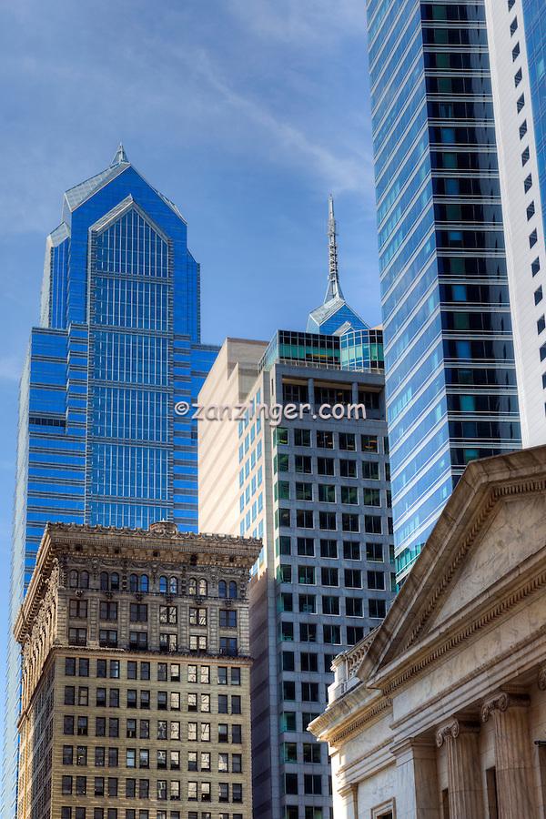 Downtown, Urban, Architecture, Building, Cityscape, Art Museum, Skyline, Philadelphia, PA,  Pennsylvania,  Stock Photos