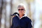 BROWNS SUMMIT, NC - APRIL 01: Notre Dame head coach Susan Holt. The first round of the Bryan National Collegiate Women's Golf Tournament was held on April 1, 2017, at the Bryan Park Champions Course in Browns Summit, NC.