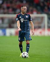 FUSSBALL   CHAMPIONS LEAGUE   SAISON 2013/2014   Vorrunde FC Bayern Muenchen - ZSKA Moskau       17.09.2013 Franck Ribery (FC Bayern Muenchen)