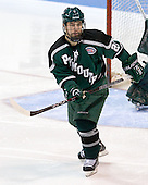 Kyle Ross (PSU - 20) - The visiting Plymouth State University Panthers defeated the Wentworth Institute of Technology Leopards 2-1 on Monday, November 19, 2012, at Matthews Arena in Boston, Massachusetts.