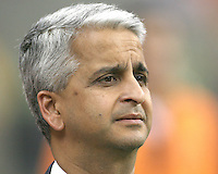 Sunil Galati head of US Soccer during the 2010 MLS All-Star match against Manchester United at Reliant Stadium, on July 28 2010, in Houston, Texas. Manchester United won 5-2.