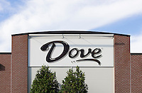 Dove Chocolate plant, Elizabethtown, Pennsylvania. Dove is a division of Mars Inc..