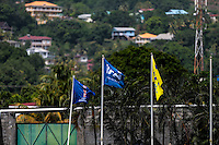 St. Vincent and the Grenadines - September 2, 2016: The U.S. Men's National team takes on St. Vincent and the Grenadines in a World Cup Qualifier (WCQ) match at Arnos Vale Stadium.