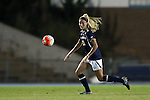 22 October 2015: Notre Dame's Brittany Von Rueden. The University of North Carolina Tar Heels hosted the Notre Dame University Fighting Irish at Fetzer Field in Chapel Hill, NC in a 2015 NCAA Division I Women's Soccer game. UNC won the game 2-1.