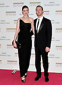 Anne Hathaway and Adam Shulman arrive for the formal Artist's Dinner honoring the recipients of the 2011 Kennedy Center Honors hosted by United States Secretary of State Hillary Rodham Clinton at the U.S. Department of State in Washington, D.C. on Saturday, December 3, 2011. The 2011 honorees are actress Meryl Streep, singer Neil Diamond, actress Barbara Cook, musician Yo-Yo Ma, and musician Sonny Rollins..Credit: Ron Sachs / CNP