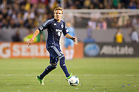 The LA Galaxy defeated Sporting Kansas City 2-0 during a Major League Soccer (MLS) at Home Depot Center stadium in Carson, California on Saturday April 20, 2013.