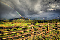 &quot;Believe&quot; - Colorado - Rainbow at the Dallas Divide - San Juan Mountains - Telluride