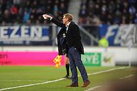 VOETBAL: HEERENVEEN: Abe Lenstra Stadion 04-04-2015, SC Heerenveen - NAC, uitslag 0-0, Trainer coach SC Heerenveen Dwight Lodeweges, ©foto Martin de Jong