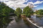 The Stone Arch Bridge, Hartford Avenue, Uxbridge, MA