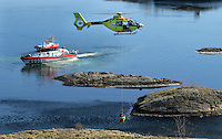 Norwegian Air Ambulance operating out of the Arendal base in Southern Norway. The helicopter is part of a nationwide service with 11 helicopter bases, fully financed from public funds. The crew of the helicopters, Eurocopter EC135 comprise a pilot, a rescue professional and a doctor (anaesthetist).