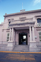 The Quinta Luz mansion or Museo de la Revolucion Mexicana in the city of Chihuahua, Mexico. This former headquarters of outlaw and hero of the Mexican Revolution Panhco Villa is now a museum.