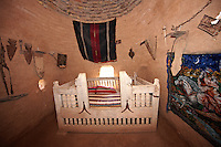 "Pictures of the beehive adobe buildings of Harran, south west Anatolia, Turkey.  Harran was a major ancient city in Upper Mesopotamia whose site is near the modern village of Altınbaşak, Turkey, 24 miles (44 kilometers) southeast of Şanlıurfa. The location is in a district of Şanlıurfa Province that is also named ""Harran"". Harran is famous for its traditional 'beehive' adobe houses, constructed entirely without wood. The design of these makes them cool inside. 2"