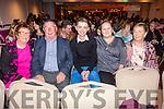 Supporting the Strictly Come Dancing event in the Sea Lodge on Saturday were l-r; Nula O'Sullivan, Michael O'Sullivan, Eoin McDaid, Sheila O'Donoghue & Breda O'Sullivan.