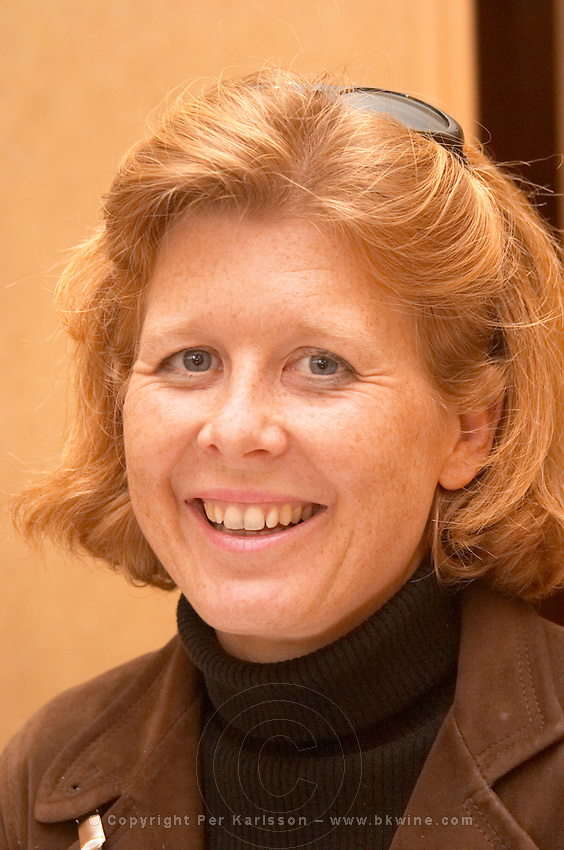 Veronique Sanders, ex-owner, now winemaker, Chateau Haut Bailly, Pessac Leognan, Graves, Bordeaux, France