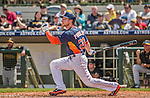 22 March 2015: Houston Astros outfielder Alex Presley in Spring Training action against the Pittsburgh Pirates at Osceola County Stadium in Kissimmee, Florida. The Astros defeated the Pirates 14-2 in Grapefruit League play. Mandatory Credit: Ed Wolfstein Photo *** RAW (NEF) Image File Available ***