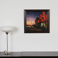 "Chidlaw: , Digital Print, Image Dims. 16"" x 17.5"", Framed Dims. 20.25"" x 21.75"""
