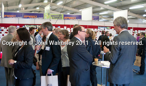 Refreshments and networking area, Kent2020Vision show, County Showground, Kent.