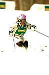 15 January 2005 - Lake Placid, New York, USA - Jillian Vogtli representing the USA, competes in the FIS World Cup Ladies' Moguls Freestyle ski competition, ranking 8th for the day, at Whiteface Mountain, Lake Placid, NY. ..Mandatory Credit: Ed Wolfstein Photo.