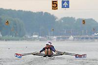 Amsterdam, NETHERLANDS, USA BLM4X,  2011 FISA U23 World Rowing Championships, Thursday, 21/07/2011 [Mandatory credit:  Intersport Images]