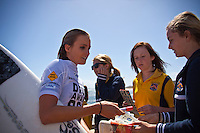 Surfer's Point, Margaret River, Western Australia (Tuesday, March 16, 2010) The 6 Star Prime Drug Aware Pro at Margaret River continued today with the Round of 48 Women. Alana Blanchard (HAW) Photo: joliphotos.com