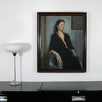"Yaskulka: Robed Woman, Digital Print, Image Dims. 31"" x 24.5"", Framed Dims. 34"" x 27.5"""