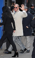 JAN 16 Michael Keaton at 'Good Morning America' in NYC