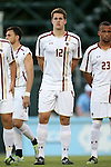 23 September 2016: Boston College's Maximilian Schulze-Geisthovel (GER). The University of North Carolina Tar Heels hosted the Boston College Eagles in Chapel Hill, North Carolina in a 2016 NCAA Division I Men's Soccer match. UNC won the game 5-0.