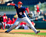 4 March 2010: Washington Nationals' pitcher Matt Capps on the mound during the Nationals-Astros Grapefruit League Opening game at Osceola County Stadium in Kissimmee, Florida. The Houston Astros defeated the Nationals split-squad 15-5 in Spring Training action. Mandatory Credit: Ed Wolfstein Photo